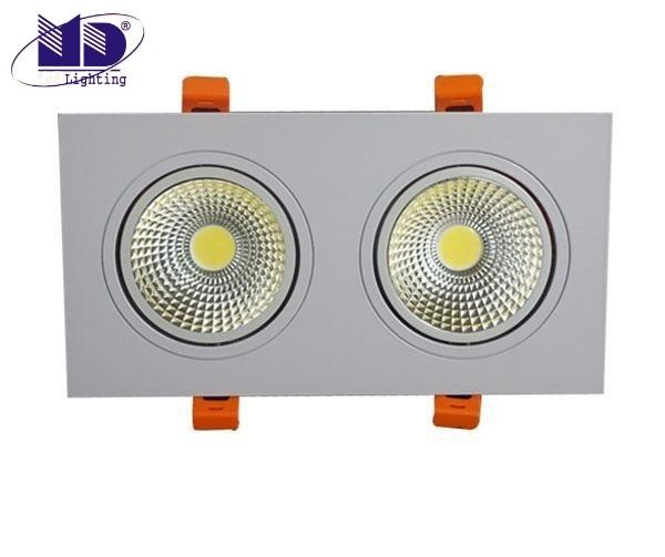 Đèn LED downlight đôi
