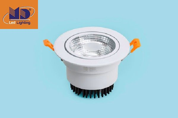 Đèn downlight có cấu tạo như thế nào?