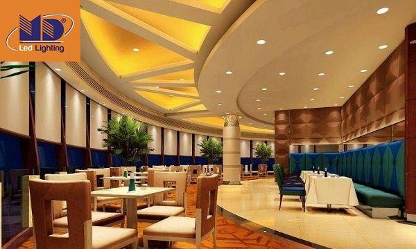 Đèn LED downlight ứng dụng tại không gian khách sạn