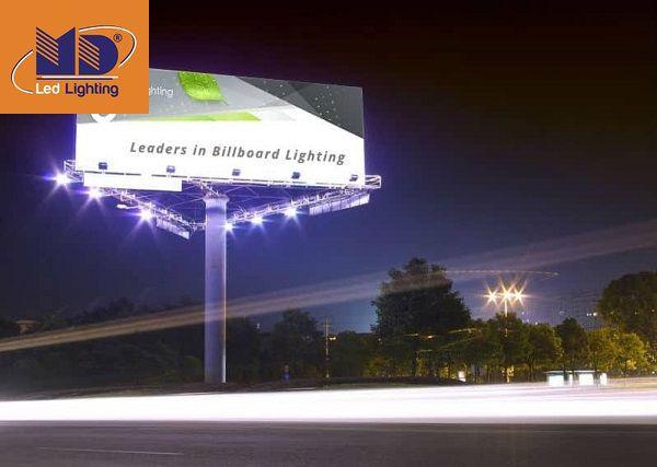 Những ưu điểm nổi bật của đèn pha bảng hiệu là gì?