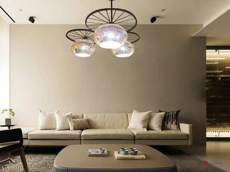 Cách bố trí đèn trần thạch cao trong không gian gia đình chuẩn
