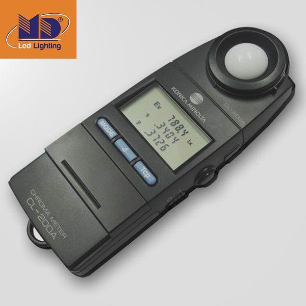 Sử dụng các thiết bị đo độ rọi