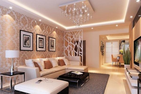 Đèn LED phòng khách được cấu tạo gồm nhiều bộ phận khác nhau