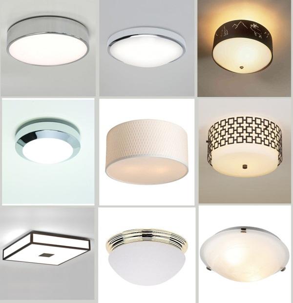 Đèn LED phòng khách đa dạng mẫu mã, tính năng